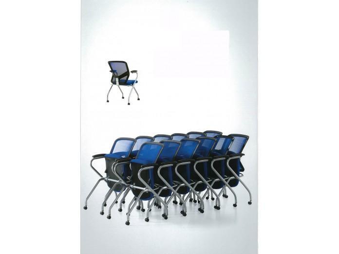 公眾椅, 疊椅, 摺椅 - T08001-U289-C 摺椅(有轆)